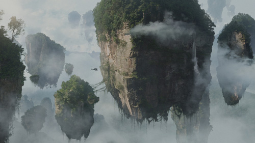 Avatar floating mountains