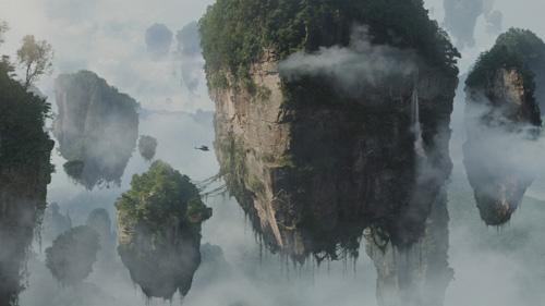 Avatar floating mountains