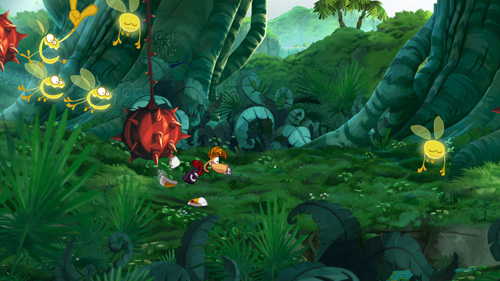 Rayman Origins E3 screen shots