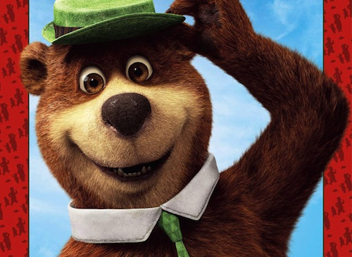 Yogi Bear. Big Screen. 3D. Justin Timberlake…