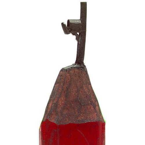 DALTON GHETTI pencil lead sculptures - mailbox