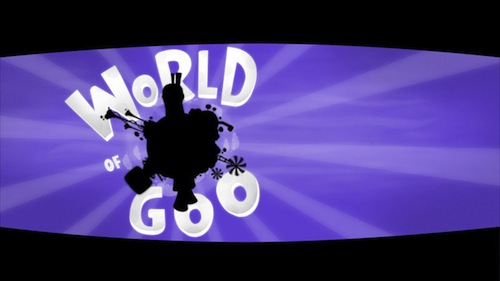 World of Goo menu