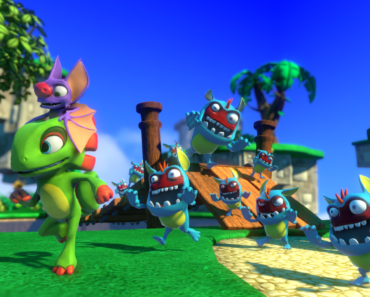 yooka laylee video game screenshot